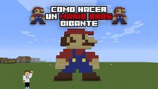 Como hacer un Mario Bros Gigante - Minecraft Tutorial