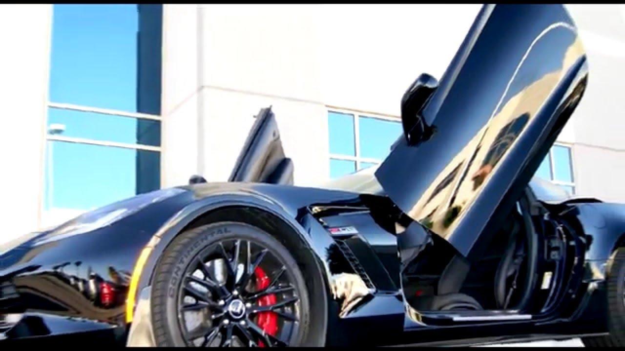 Chevrolet Corvette C7 Z06 Lambo Doors By Vertical Doors Inc Youtube