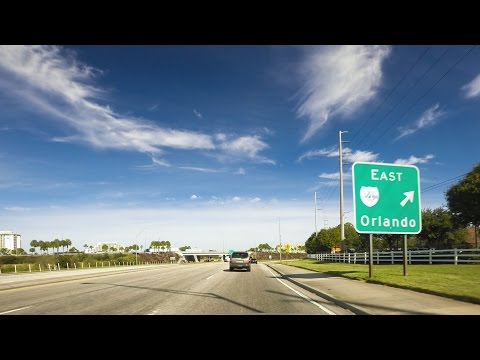 Drivelapse: Orlando To Fort Lauderdale
