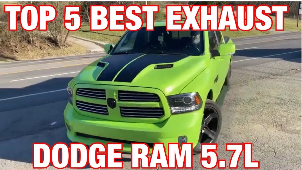 Top 5 Best Exhaust Set Ups For Dodge Ram 5 7l Hemi Youtube