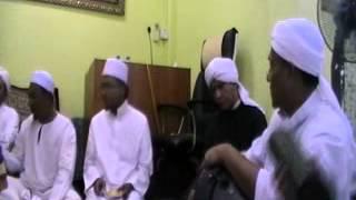 Bacaan Qasidah Bersama Tuan Guru Syeikh Nuruddin di Surau Al-Hakim Subang Bistari.
