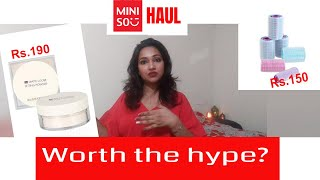 Miniso   Starting Rs. 150   Mini haul   Miniso Bangalore   Beauty, lifestyle, makeup and more
