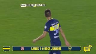 #ResumenDX Lanús 1  - Boca 0 (Fecha 1 - Campeonato 2016/17)