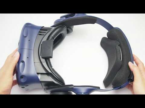 HTC Vive Pro Head Strap Foam Replacement Tutorial