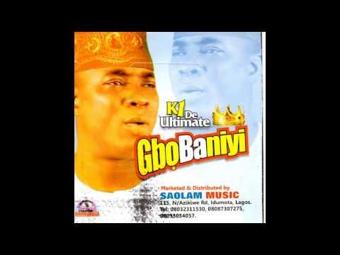 K1 De Ultimate - Gbobaniyi