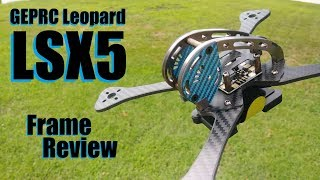 GEPRC Leopard LSX5 Frame Review from Banggood