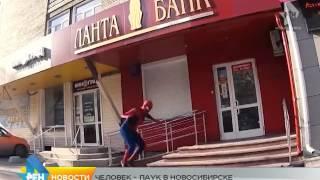 Сюжет от 21.10.2015 новосибирский человек паук
