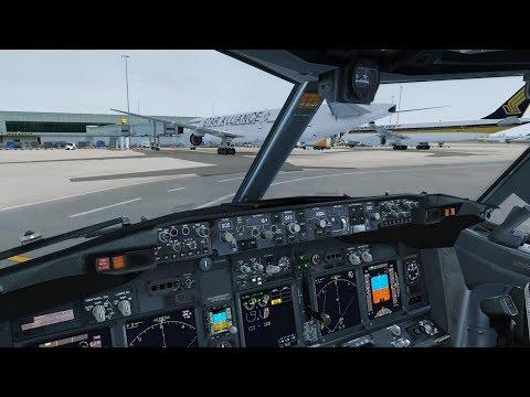 FSX DX10 | PMDG 737-900 NGX | WSSS to WIII Highlights [PF3 ATC]