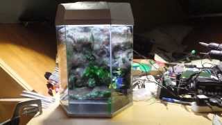 Diy 3d  Aquarium Background Fishtank