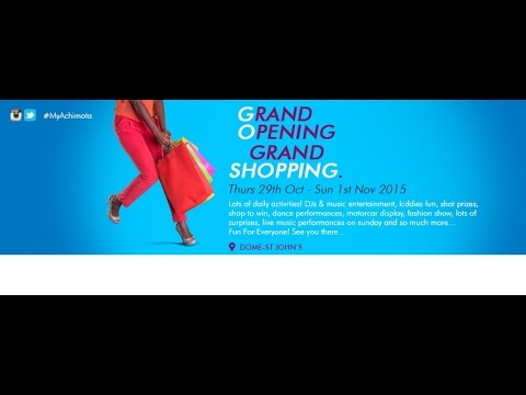 Grand Opening of the Achimota Retail Centre