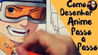 Como Desenhar Anime Passo a Passo?Método Fan Art, Realmente Ensina Como Desenhar Anime Passo a Passo