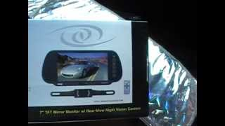 Unboxing and installation of rear-view camera Pyle View PLCM7200 - Must Have