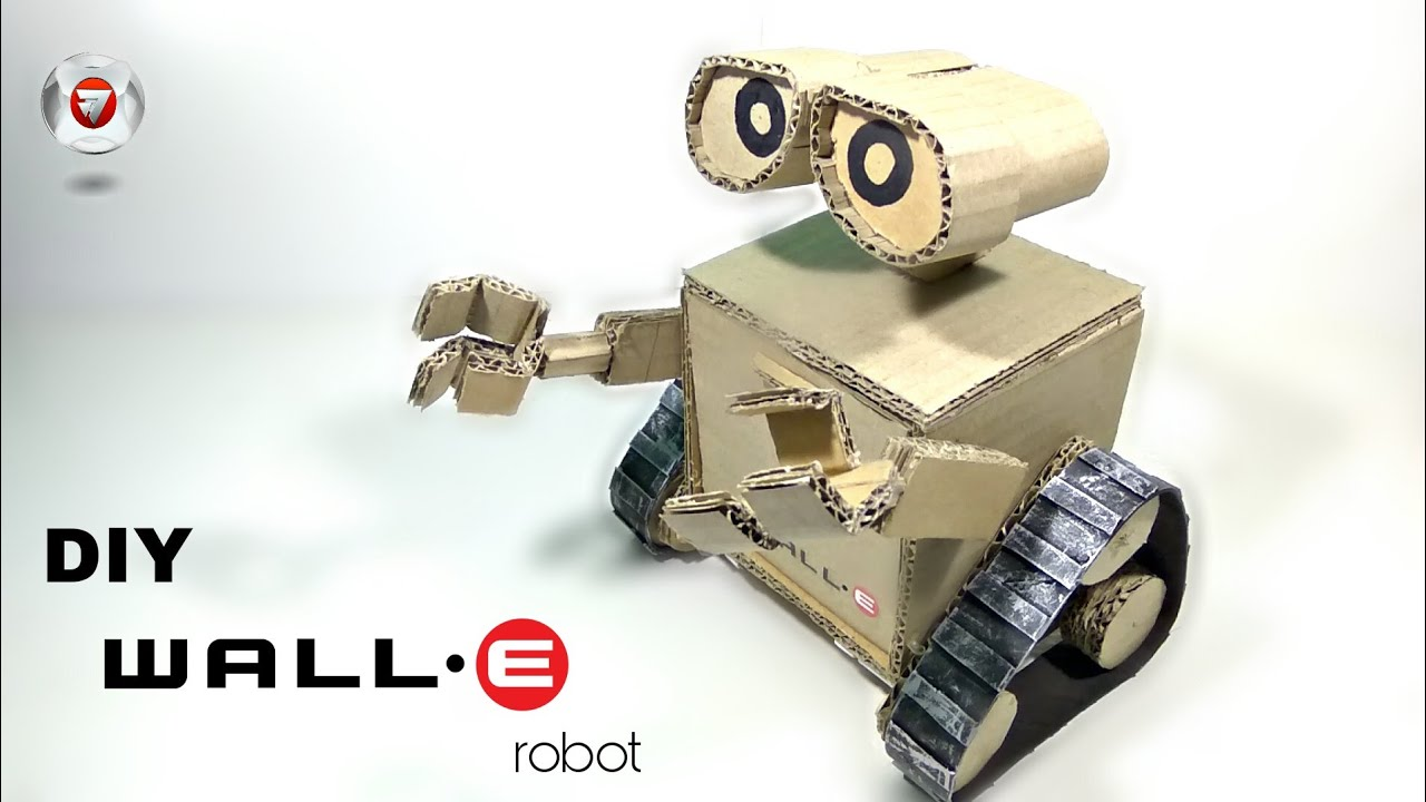 How To Make WALL E Robot From Cardboard