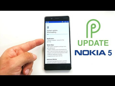 Nokia 5 Gets Android 9 Pie update - YouTube