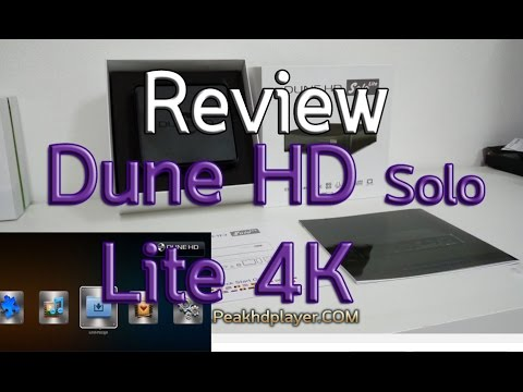 Review Dune Solo Lite 4k BY PEAKHDPLAYER.COM