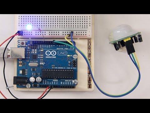 PIR Motion Sensor / Bewegungsmelder am Arduino