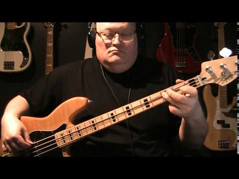 David Bowie Cat People Putting Out Fire Bass Cover with Notes & Tablature
