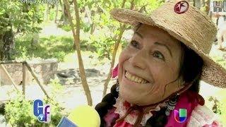Entrevista con - LA INDIA MARIA-  Sobre su amor por los TRAMPOLINES