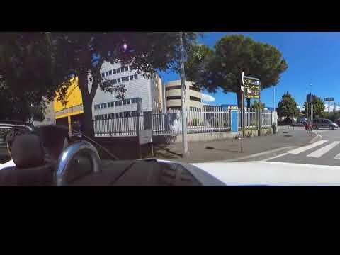 Genova Sampierdarena Cornigliano E Campi Riprese Con Camera Car A