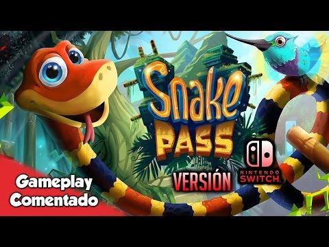 SNAKE PASS, Gameplay Nintendo Switch | La Serpiente de Nokia se convierte en un plataformas 3D