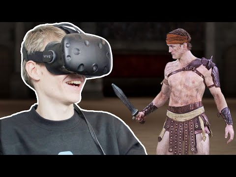 3D HUMAN SCANS IN VIRTUAL REALITY! | 8i VR (HTC Vive Gameplay)