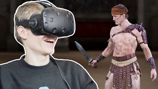 3D HUMAN SCANS IN VIRTUAL REALITY!   8i VR (HTC Vive Gameplay)