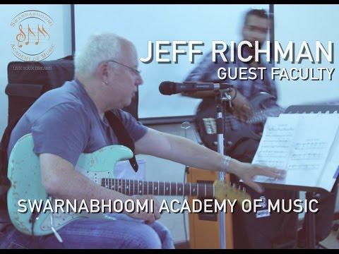 Jeff Richman  Masterclass  SAM Sessions