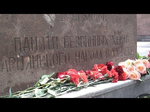 Армяне Краснодара почтили память жертв Геноцида (Пашковская армянская община)