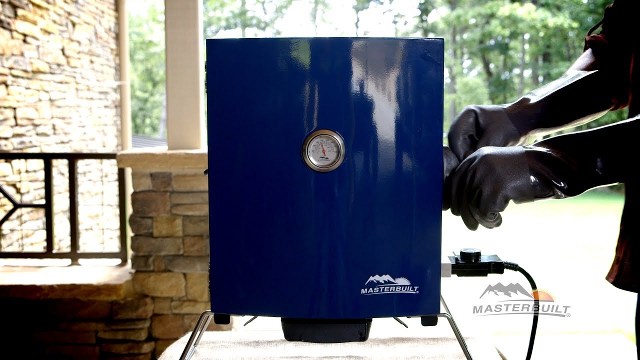 Cooking on the Patio to Portable Electric Smoker (Blue ...