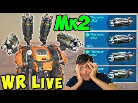 NEW THERMITE BEHEMOTH Troll Mk2 War Robots Max 5.3 LIVE Gameplay WR