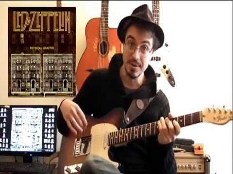 kashmir (led zeppelin) - guitar tutoriel rock in dadgad