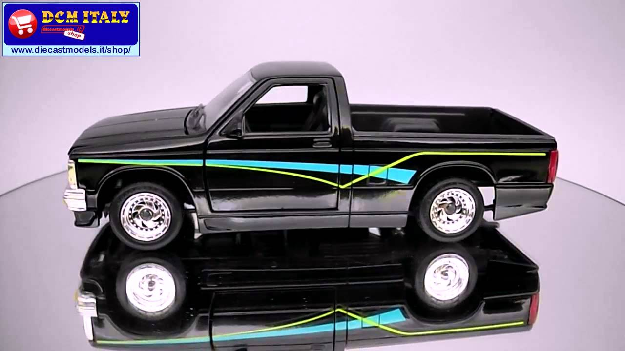 Revell Chevrolet S10 Pick Up Black Hd Youtube