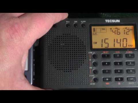 Tecsun R9012 VS Tecsun PL380 Radio Habana Cuba 15140 Khz Shortwave