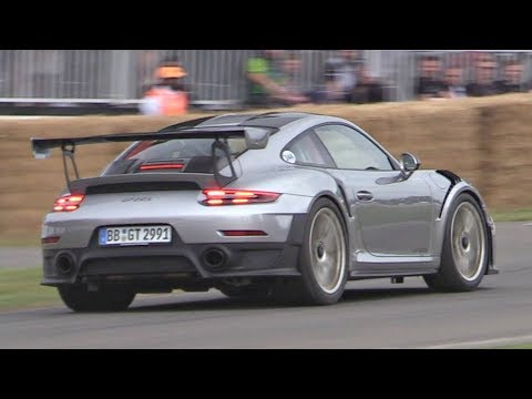 2018 Porsche 991 GT2 RS Exhaust SOUND! - Huge Revs, Launches & Accelerations!
