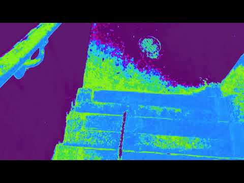 testing a thermal camera. urine temperature