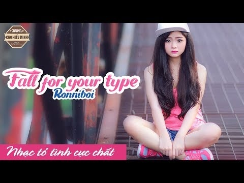 Fall For Your Type | Ronniboi |VIDEO LYRIC|