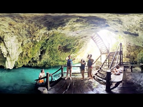 Feeling Brave? Take A Swim In Mexico's Spectacular Flooded Caves