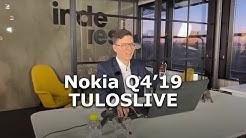 Nokia Q4'19 tuloslive (6.2.2020)