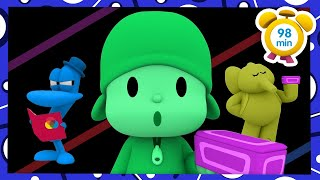 🎨 POCOYO in ENGLISH - Learn colors [ 98 minutes ] | Full Episodes | VIDEOS and CARTOONS for KIDS