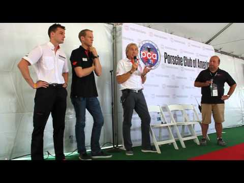 Rennsport Reunion V PCA Bell, Bergmeister and Bamber Share Experiences Part 1