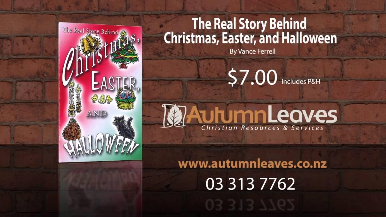 the real story behind christmas easter and halloween