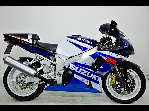 Suzuki GSXR 1000 K1 Blue/White 2001, Y Reg