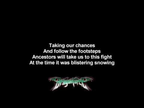 DragonForce - Lost Souls In Endless Time   Lyrics on screen   HD