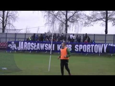 JKS Jarosław - Orlęta Radzyń Podlaski 0-2 [KIBICE, DOPING]