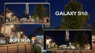 Sony Xperia 1 vs Samsung Galaxy s10 low light comparison!