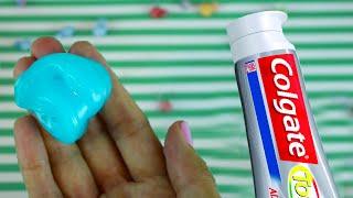 Mini Colgate Toothpaste Sugar Slime 5 Minute Slimes