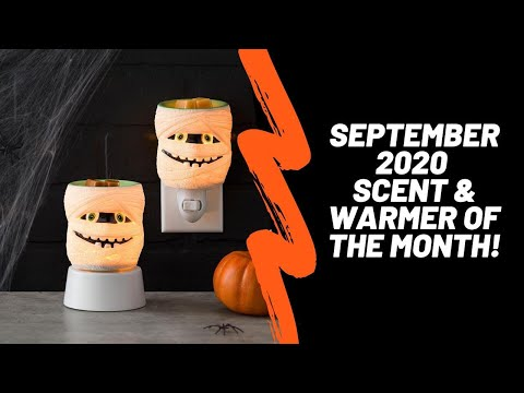 September 2020 Scent & Warmers of the Month