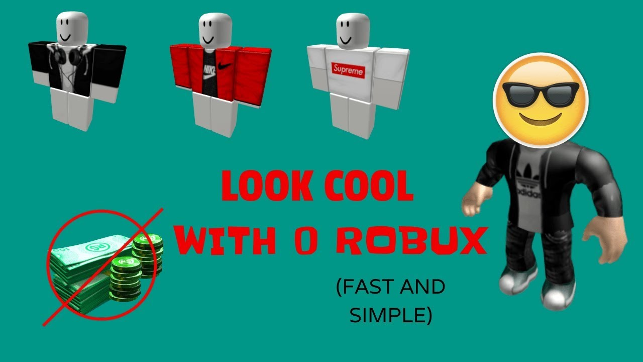 Robux Cool Make Your Avatar Look Cool With No Robux At All Working Method