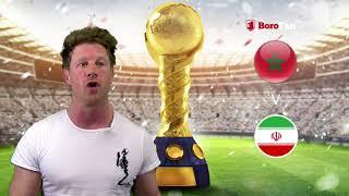 FOXYS MATCH PREVIEW - MOROCCO V IRAN ON BOROFANTV