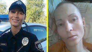 Polizistin stirbt, nachdem jemand ihr ins Gesicht gespuckt hat